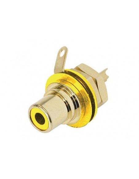 Neutrik NYS 367-4 (жёлтый) разъем