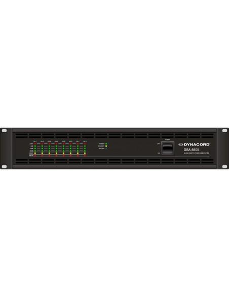 Dynacord DSA 8805 усилитель мощности 8 х 500 Вт (4Ом/70/100V)
