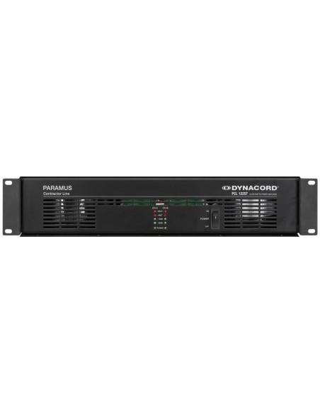 Dynacord PCL 1225T усилитель мощности 100V 2x250 вт, 2х270 Вт/4 ом