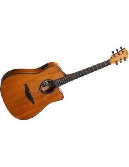 Электроакустическая гитара LAG Tramontane T77DCE