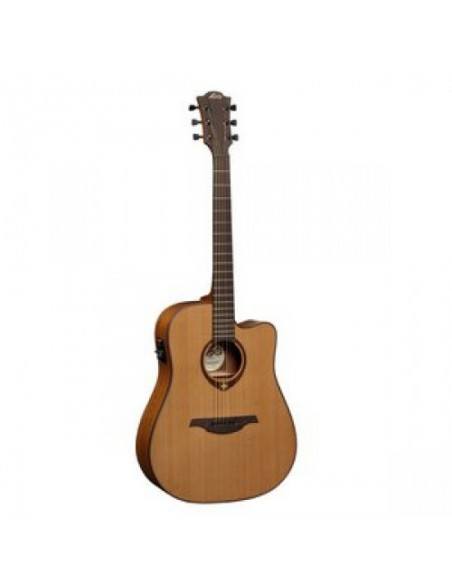 Электроакустическая гитара LAG Tramontane T200DCE
