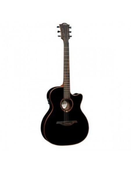 Электроакустическая гитара LAG Tramontane T100ASCE-BLK