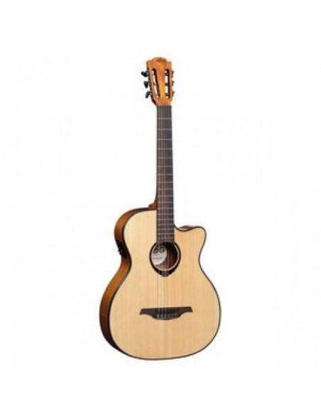 Гитара классическая со звукоснимателем LAG Tramontane TN66ACE