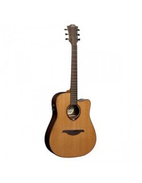 Электроакустическая гитара LAG Tramontane T300DCE