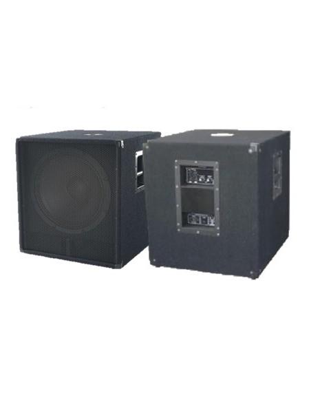 """Комплект из двух акустических систем EMS 118CSA, 2 * 18"""", 1600 Вт, 8 Ом"""
