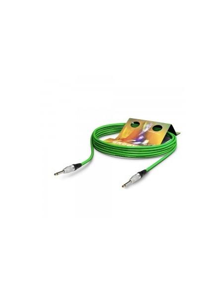 Инструментальный готовый кабель Sommer Cable TR9X-0600-GN