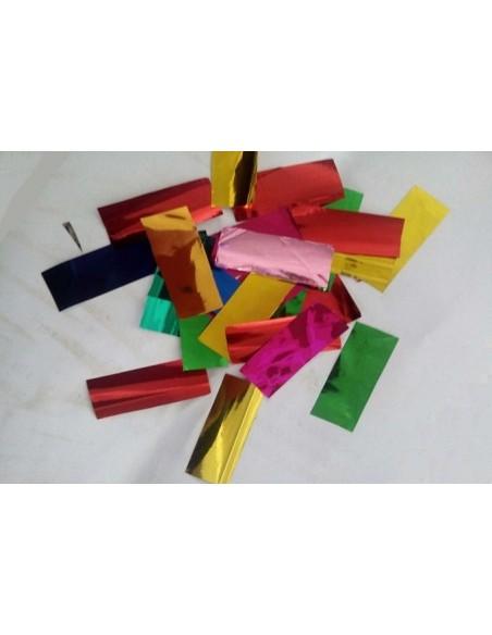 Конфетти из фольги J-66R нарезное микс, 1 кг