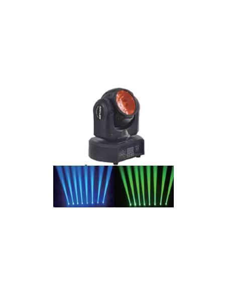 Вращающаяся BEAM светодионая голова BIG FAST BEAM 60W RGBW