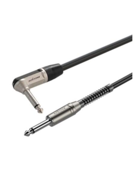 Готовый инструментальный кабель Roxtone SGJJ110L6, 1x0.22 кв.мм, вн.диаметр 6 мм, 6 м