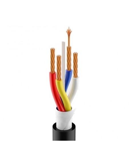 Гибкий акустический кабель Roxtone HFSC425, 4х2.5 кв. мм, вн. диаметр 12 мм, 100 м