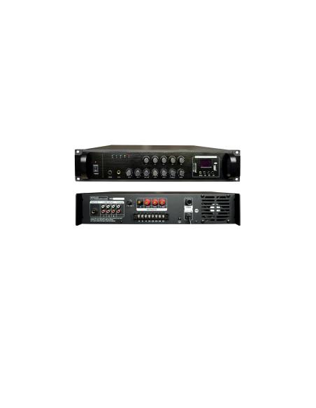 Трансляционный цифровой усилитель BIG PADIG80 5zoneUSB/MP3/FM/BT