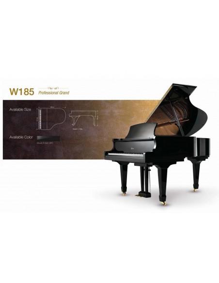 Акустический рояль Albert Weber W185 BP