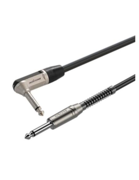 Готовый инструментальный кабель Roxtone SGJJ110L5, 1x0.22 кв.мм, вн.диаметр 6 мм, 5 м