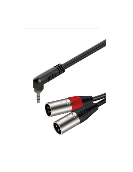 Готовый кабель Roxtone RAYC190AL2, 2х1x0.14 кв. мм, вн. диаметр 4x8 мм, 2 м