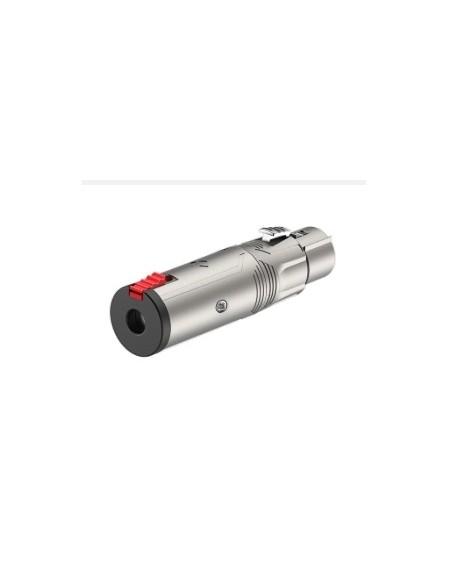 Переходник Roxtone RA3XFJF 6.3mm Jack female stereo - XLR female (мама)