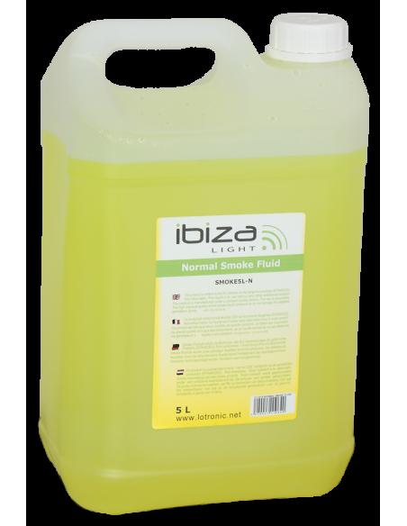 Жидкость тумана на водной основе haze fluid 5l IBIZA LIGHT HAZE5L