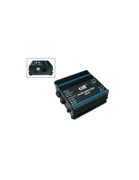 DI-Box пассивный Gatt Audio DIP-01 (22-49-5-2)