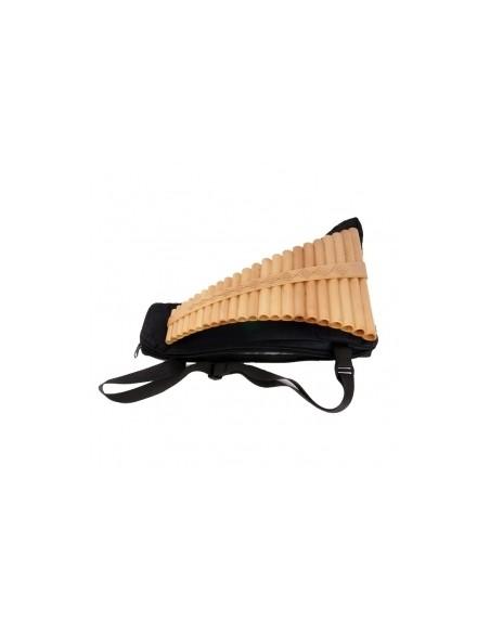 Пан-флейта Hora Panpipe 22 acacia/maple Sub Contrabass (27-8-2-36)