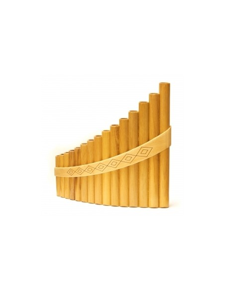 Пан-флейта Hora Panpipe 15 acacia/maple Alto (27-8-2-16)