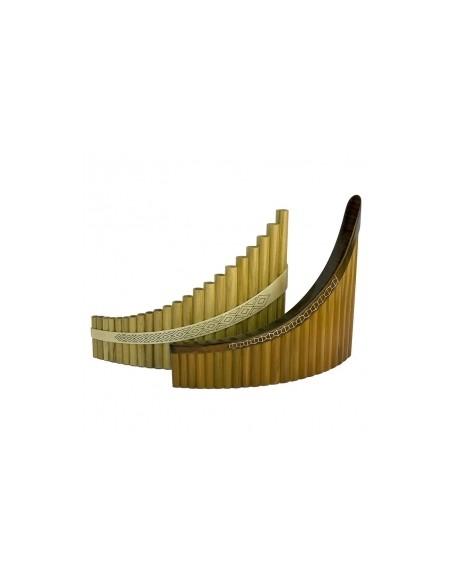 Пан-флейта Hora Panpipe 22 acacia/maple Tenor (27-8-2-37)