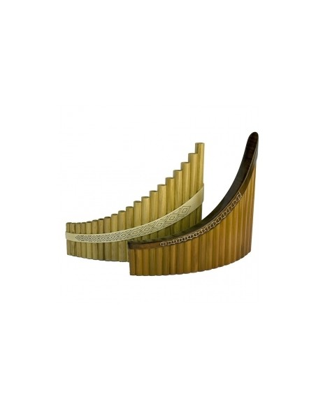 Пан-флейта Hora Panpipe 20 acacia/maple Soprano (27-8-2-25)