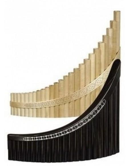 Пан-флейта Hora Panpipe 25 acacia/maple Tenor (27-8-2-7)