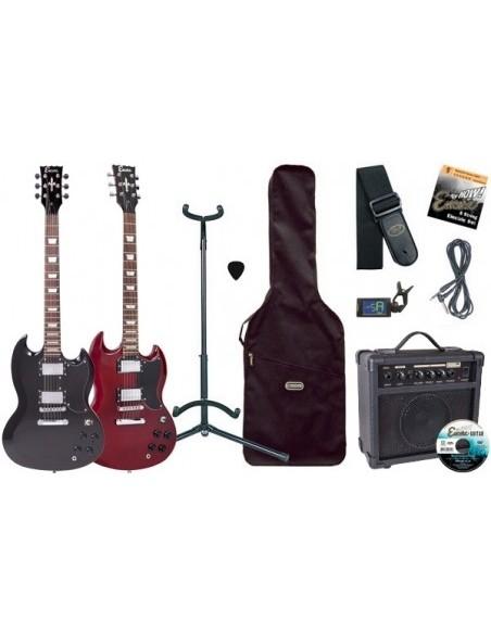 Гитара электро ENCORE EBP-E69CR (комплект) (17-44-2-5)